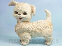 Brinquedos Antigos - Estrela - Cachorro Lulu com 22,00 cm de altura Olhos de dormir e apito Ano 1963