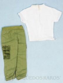 1. Brinquedos antigos - Estrela - Calça e Camiseta do Soldado Série Clássicos Falcon Edição 1994