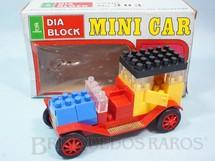 1. Brinquedos antigos - Kawada - Calhambeque Bianchi Mini Car Dia Block Serie Brazilian Kawada Década de 1980
