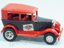 Brinquedos Antigos - Tonka - Rico - Calhambeque Chicago com 11,00 cm de comprimento Carroceria de aço Paralamas de plástico Década de 1970