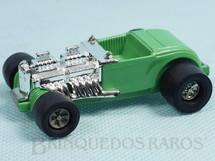 Brinquedos Antigos - Tonka - Rico - Calhambeque Hot Rod Double Deuce com 8,00 cm de comprimento Série Tonka Tote versão espanhola Carroceria de plástico Década de 1970