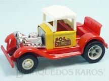 Brinquedos Antigos - Tonka - Rico - Calhambeque Hot Rod Sol y Sombra com 11,00 cm de comprimento Carroceria de aço Paralamas de plástico Década de 1970