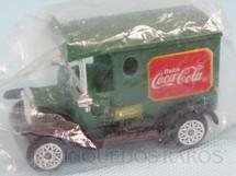 1. Brinquedos antigos - Sem identificação - Caminhão antigo de Entrega Brinde Coca Cola com 8,00 cm de comprimento Embalagem lacrada Década de 1990