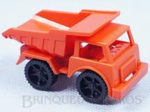 1. Brinquedos antigos - Mitroplast - Caminhão Basculante Tipo Big Frota Década de 1990
