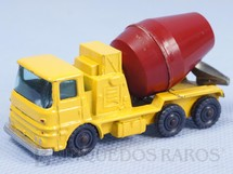 1. Brinquedos antigos - Corgi Toys-Husky - Caminhão Betoneira ERF Cement Truck Husky Década de 1960