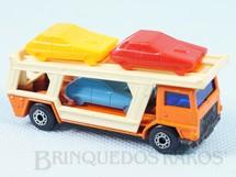 Brinquedos Antigos - Matchbox - Caminhão Cegonha Bedford Car Transporter Superfast