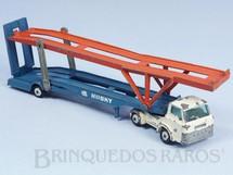 Brinquedos Antigos - Corgi Toys-Husky - Caminh�o Cegonha Hoynor Car Transporter cabine branca Husky D�cada de 1960