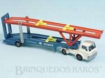 Brinquedos Antigos - Corgi Toys-Husky - Caminhão Cegonha Hoynor Car Transporter cabine branca Husky Década de 1960
