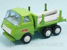 1. Brinquedos antigos - Tonka - Rico - Caminhão com Tubos 13,00 cm de comprimento Série Mini Sanson Década de 1970