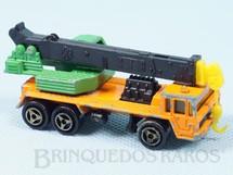 1. Brinquedos antigos - Majorette - Caminhão Guindaste Savien Grue Década de 1980