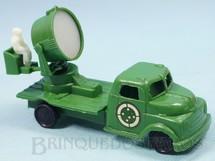 1. Brinquedos antigos - Balila - Caminhão Militar Holofote do Exército Brasileiro Década de 1970