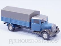 1. Brinquedos antigos - Wiking - Caminhão Mercedes Benz 1939 carga seca Década de 1980