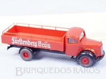 1. Brinquedos antigos - Brekina - Caminhão Mercedes Benz 1939 carga seca Década de 1980