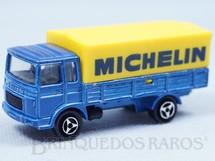 1. Brinquedos antigos - Majorette - Caminhão Saviem Michelin Década de 1980