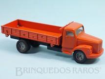 1. Brinquedos antigos - Juê - Caminhão Scania Vabis L111 Carroceria com laterais basculante Década de 1970
