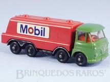 1. Brinquedos antigos - Lone Star - Caminhão tanque Foden Tilt Cab Tanker Mobil Impy Road Master Cabine basculante verde Década de 1970