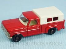 Brinquedos Antigos - Matchbox - Caminhonete Ford Pickup black plastic Regular Wheels