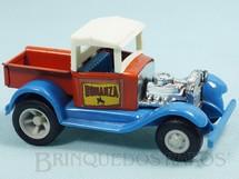 Brinquedos Antigos - Tonka - Rico - Caminhonete Hot Rod Bonanza com 11,50 cm de comprimento Carroceria de aço Paralamas de plástico Década de 1970