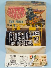 1. Brinquedos antigos - M.P.C. - Caminhonete Monstro Super Zinger