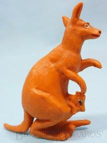 1. Brinquedos antigos - Casablanca e Gulliver - Canguru com Filhote Série Zoológico Década de 1960