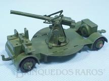 1. Brinquedos antigos - Dinky Toys - Canhão Anti Aircraft Gun verde Ano 1939