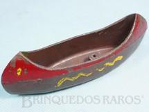 1. Brinquedos antigos - Casablanca e Gulliver - Canoa Série Acampamento Apache