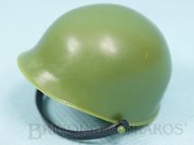 1. Brinquedos antigos - Estrela - Capacete de Soldado Verde Claro Edição 1995 e 2000