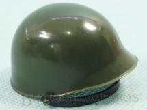Brinquedos Antigos - Estrela - Capacete de Soldado Verde Escuro Edição 1977 a 1980