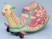 1. Brinquedos antigos - David Sebel Co Ltd - Caracol Mobo Snail com 73,00 cm de comprimento Ano 1955