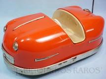 1. Brinquedos antigos - Sem identificação - Carrinho Bate-Bate de Parque de Diversão com 26,00 cm de comprimento Sistema Bate e Volta para bonecas de 9,00 cm de altura Década de 1950