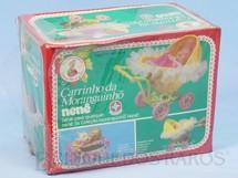 1. Brinquedos antigos - Estrela - Carrinho da Moranguinho Nenê Caixa Lacrada Década de 1980