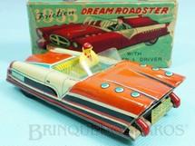 1. Brinquedos antigos - Linemar Toys - Carro 1955 Dream Roadster com 12,00 cm de comprimento Década de 1950