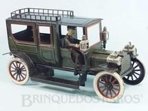 Brinquedos Antigos - Carette - Calhambeque Raise Limousine com 40 cm de comprimento Apresenta rodas dianteiras que esterçam Portas que abrem com maçanetas Alavancas de breque e de mudança de direção anda para frente e para trás Ano 1910