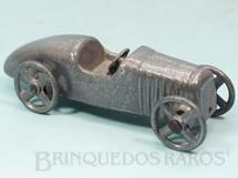 1. Brinquedos antigos - Alumínio Fulgor S.A. - Carro de Corrida com 14,00 cm de comprimento Década de 1950