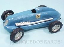 1. Brinquedos antigos - Victory Industries - Carro de Corrida Mighty Midget Electric Racer com 16,00 cm de comprimento Ano 1949