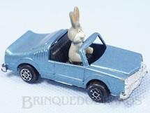 1. Brinquedos antigos - Alfema Norte e Rei - Carro do Coelho Pernalonga com 6,5 cm de comprimento Década de 1970