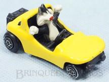 1. Brinquedos antigos - Alfema Norte e Rei - Carro do Frajola com 6,5 cm de comprimento Década de 1970