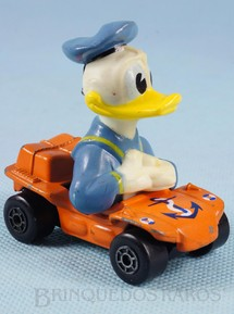 Brinquedos Antigos - Matchbox - Carro do Pato Donald Duck Beach Buggy Walt Disney Series