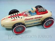 1. Brinquedos antigos - Modern Toys e Masudaya Toys - Carro Formula 1 Record Holder com 32 cm de comprimento Sistema Bate e Volta Década de 1960