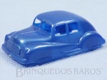 Brinquedos Antigos - Sem identifica��o - Carro Sedan com 5,00 cm de comprimento Pl�stico Metalizado D�cada de 1950