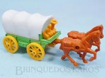 1. Brinquedos antigos - Corgi Toys-Kiko - Carroção Covered Wagon Série Wild West Brazilian Corgi Jr Kiko Década de 1980