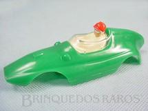 1. Brinquedos antigos - Estrela - Carroceria Formula Junior verde licença Gilbert Co. Nunca usada Estoque Original de Fábrica Ano 1963