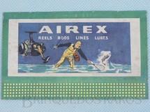 Brinquedos Antigos - Lionel - Cartaz 310 Bilboard Plates Airlex Ano 1950 a 1968