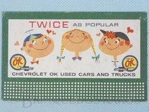 Brinquedos Antigos - Lionel - Cartaz 310 Bilboard Plates Twice as Popular Ano 1950 a 1968