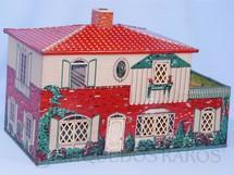 1. Brinquedos antigos - Metalma - Casa de Bonecas com 70,00 cm de comprimento por 45,00 cm de altura Lata litografada interna e externamente Esse Brinquedo foi vendido tanto pela Metalma como pela Estrela Década de 1950