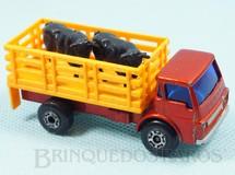 Brinquedos Antigos - Matchbox - Cattle Truck Superfast completo com bois