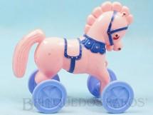 1. Brinquedos antigos - Trol - Cavalo com rodas 12,00 cm de altura Coleção Miguel Cerrato Década de 1960