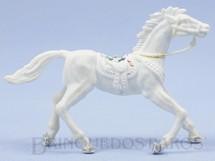 Brinquedos Antigos - Casablanca e Gulliver - Cavalo de Cowboy branco