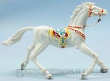 1. Brinquedos antigos - Casablanca e Gulliver - Cavalo de Cowboy branco