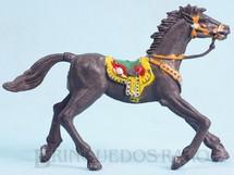 Brinquedos Antigos - Casablanca e Gulliver - Cavalo de Cowboy Cinza escuro